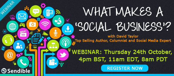 Webinar: What Makes a 'Social Business'?